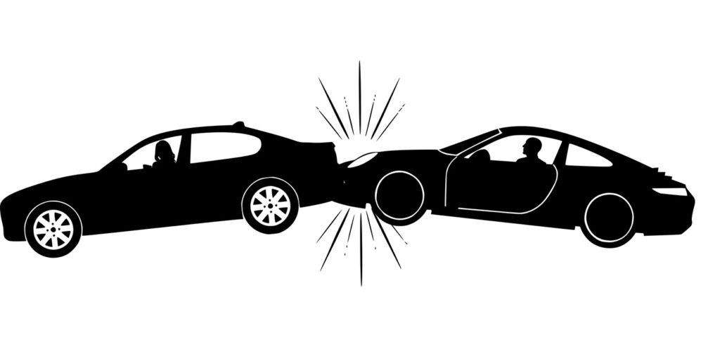 Victime accident de la route